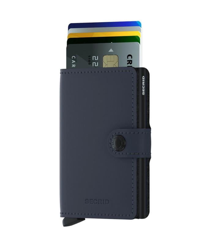 Secrid - Secrid Miniwallet Matte Night Blue Wallet (1)