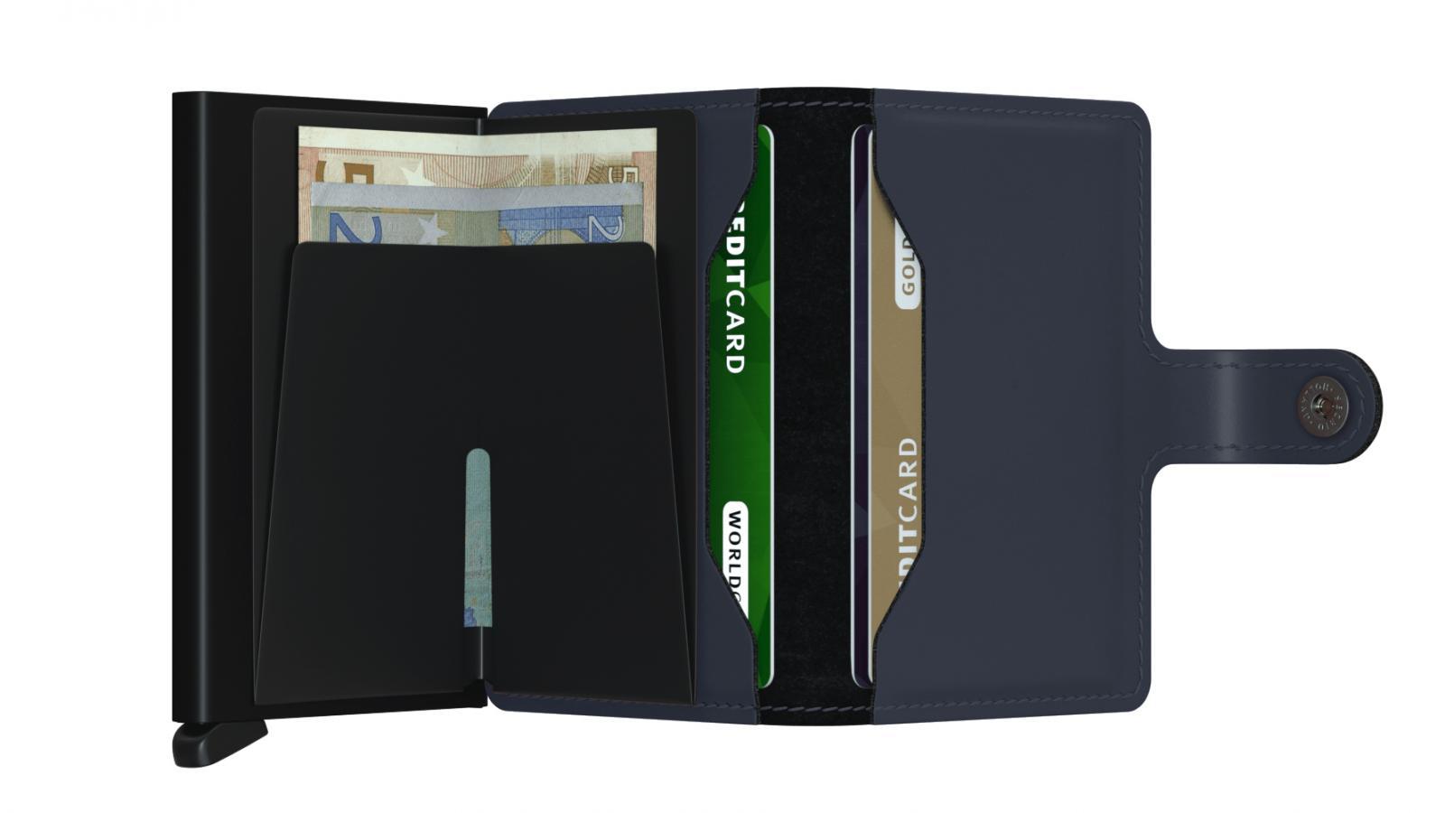 Secrid Miniwallet Matte Night Blue Wallet