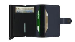 Secrid Miniwallet Matte Night Blue Wallet - Thumbnail