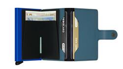 Secrid Miniwallet Matte Petrol Blue Cüzdan - Thumbnail