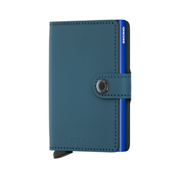 Secrid - Secrid Miniwallet Matte Petrol Blue Cüzdan