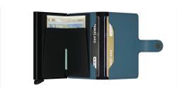 Secrid Miniwallet Matte Petrol Cüzdan - Thumbnail