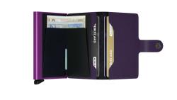 Secrid Miniwallet Matte Purple Cüzdan - Thumbnail