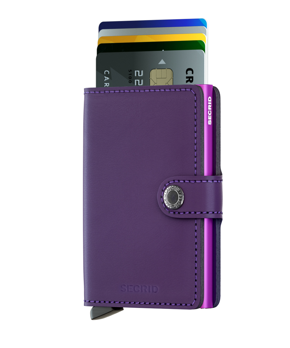 Secrid Miniwallet Matte Purple Cüzdan