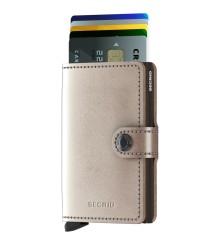 Secrid - Secrid Miniwallet Metalic Champagne Brown Wallet (1)