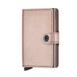 Secrid Miniwallet Metallic Rose Wallet - Thumbnail