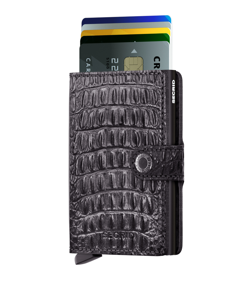 Secrid Miniwallet Nile Black Wallet