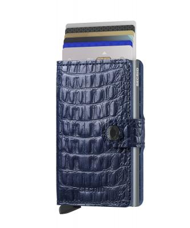 Secrid - Secrid Miniwallet Nile Blue Cüzdan (1)