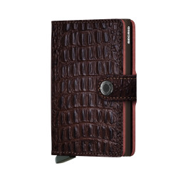 Secrid Miniwallet Nile Brown Cüzdan - Thumbnail
