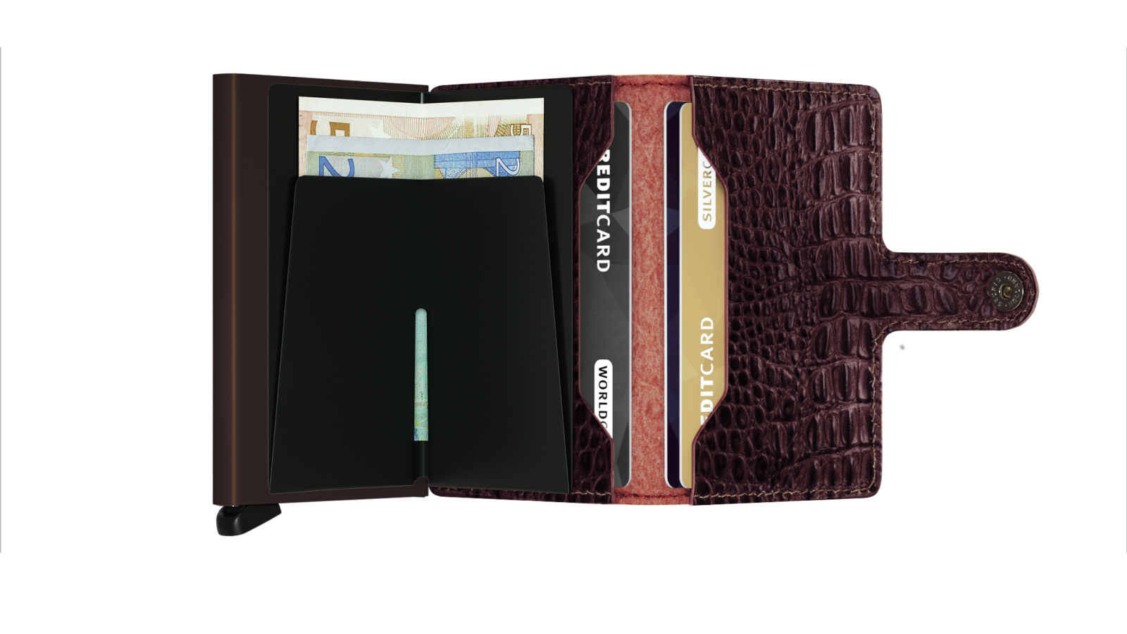 Secrid Miniwallet Nile Brown Cüzdan