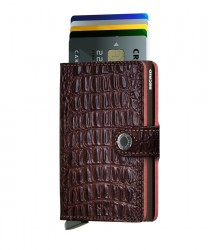 Secrid - Secrid Miniwallet Nile Brown Cüzdan (1)