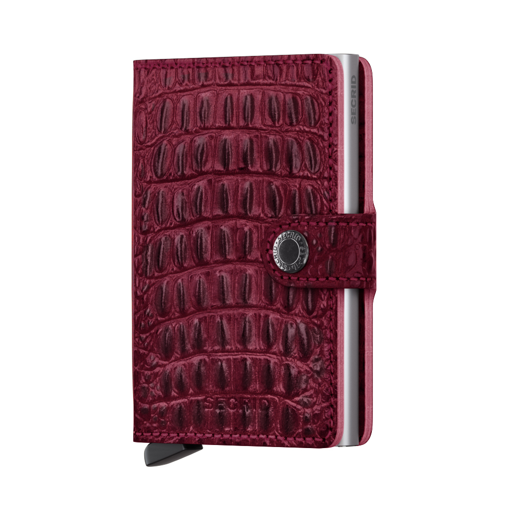Secrid Miniwallet Nile Red Cüzdan