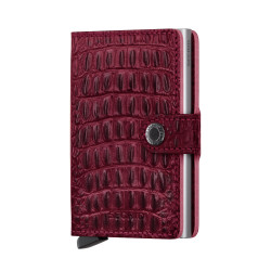 Secrid Miniwallet Nile Red Cüzdan - Thumbnail