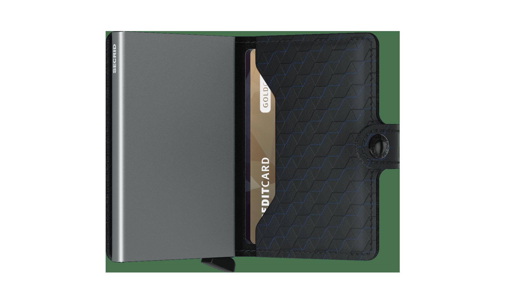 Secrid Miniwallet Optical Black Cüzdan