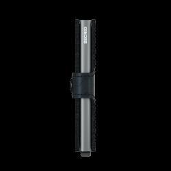 Secrid Miniwallet Optical Black Cüzdan - Thumbnail