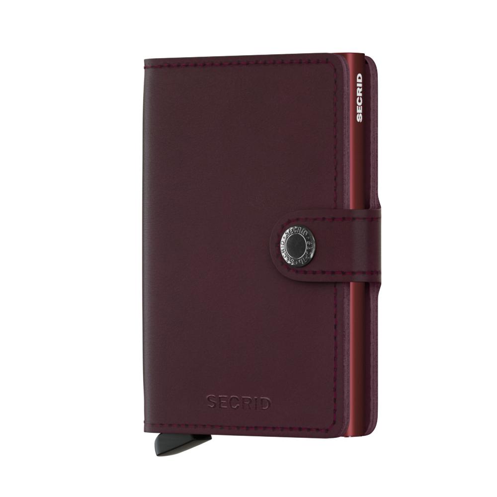 Secrid Miniwallet Original Bordeaux Wallet