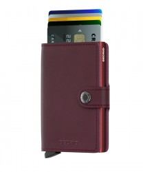 Secrid Miniwallet Original Bordeaux Wallet - Thumbnail