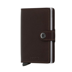Secrid - Secrid Miniwallet Original Brown Cüzdan