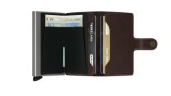Secrid Miniwallet Original Brown Cüzdan - Thumbnail