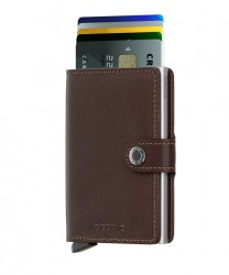 Secrid - Secrid Miniwallet Original Brown Cüzdan (1)