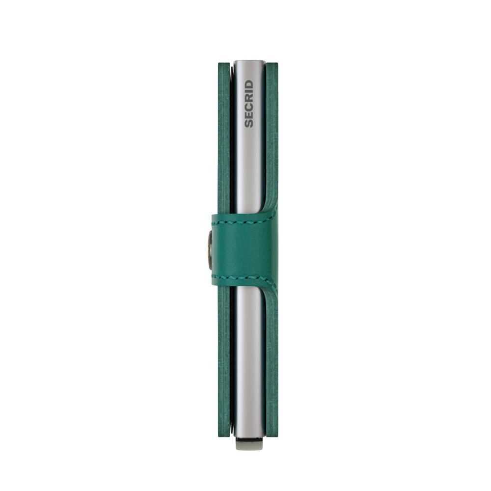 Secrid Miniwallet Original Emerald Cüzdan