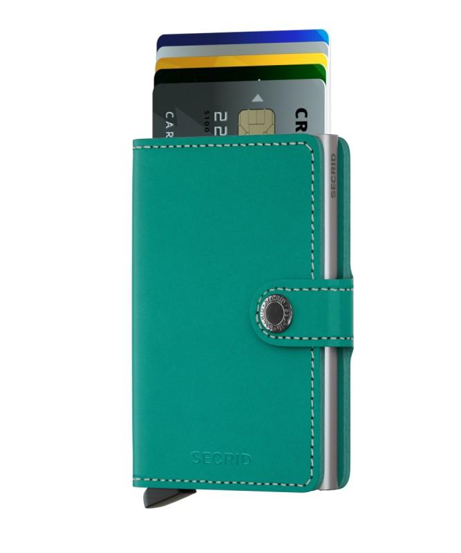 Secrid - Secrid Miniwallet Original Emerald Cüzdan (1)