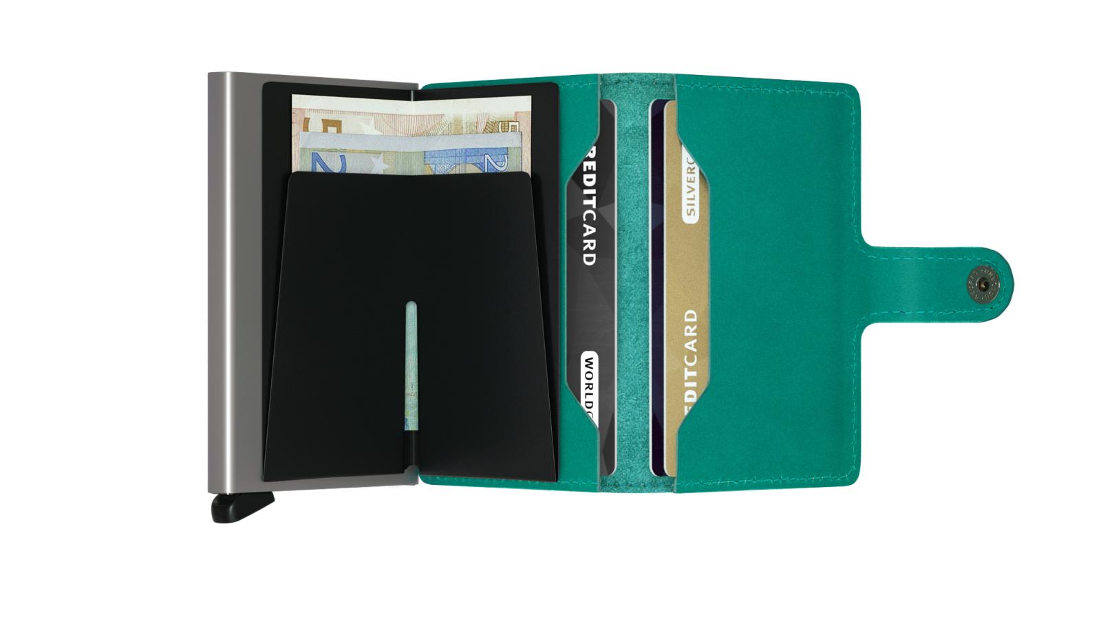 Secrid Miniwallet Original Emerald Wallet
