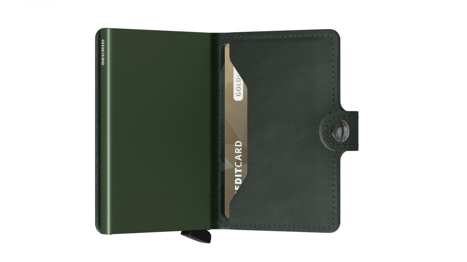 Secrid Miniwallet Original Green Cüzdan