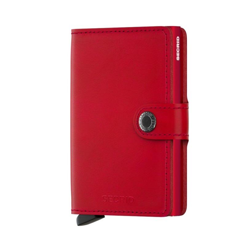 Secrid Miniwallet Original Red Red Cüzdan