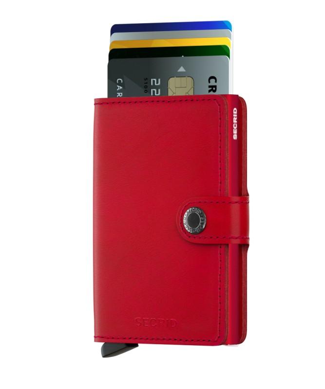 Secrid - Secrid Miniwallet Original Red Red Cüzdan (1)