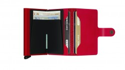Secrid Miniwallet Original Red Red Cüzdan - Thumbnail