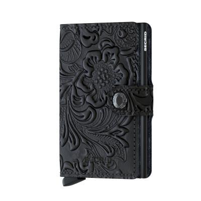 Secrid Miniwallet Ornament Black Wallet