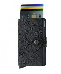 Secrid Miniwallet Ornament Black Wallet - Thumbnail