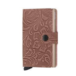 Secrid Miniwallet Ornament Rose Wallet - Thumbnail