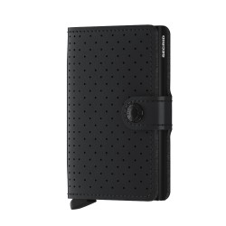 Secrid - Secrid Miniwallet Perforated Black Cüzdan