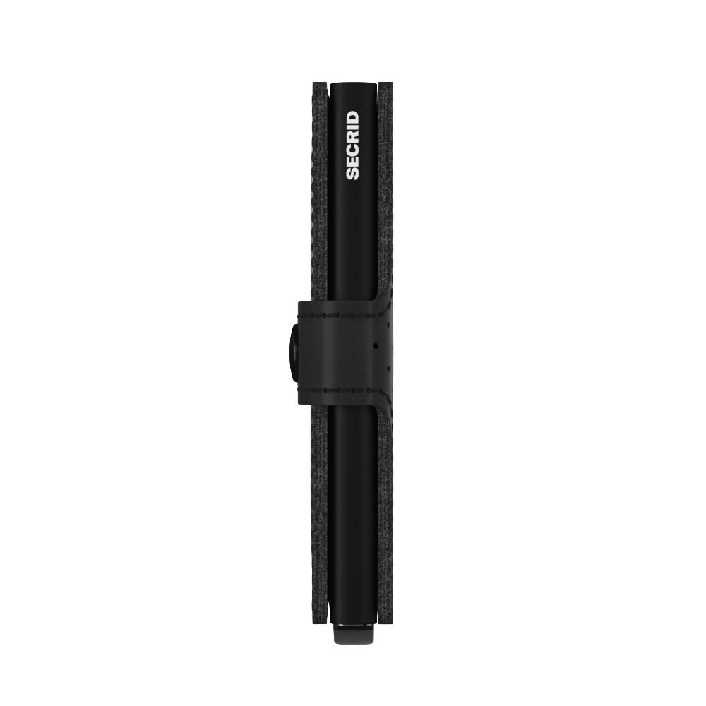 Secrid Miniwallet Perforated Black Cüzdan
