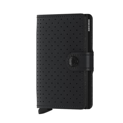 Secrid - Secrid Miniwallet Perforated Black Wallet