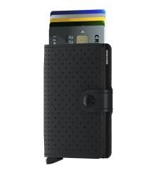 Secrid - Secrid Miniwallet Perforated Black Wallet (1)