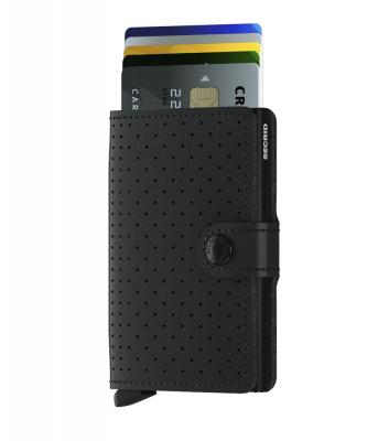 Secrid - Secrid Miniwallet Perforated Black Wallet (1)