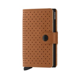 Secrid - Secrid Miniwallet Perforated Cognac Cüzdan
