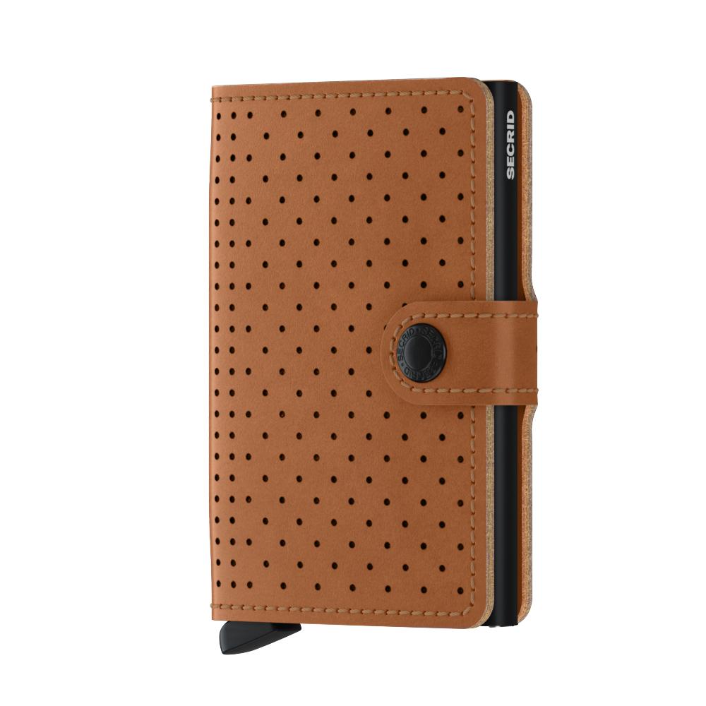 Secrid Miniwallet Perforated Cognac Wallet