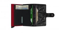 Secrid Miniwallet Prism Black Red Cüzdan - Thumbnail