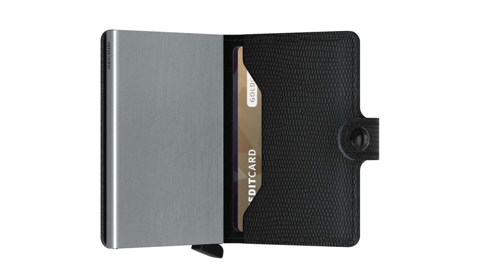 Secrid Miniwallet Rango Black Wallet