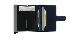 Secrid Miniwallet Rango Blue Titanium Cüzdan - Thumbnail