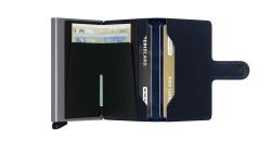Secrid Miniwallet Rango Blue Titanium Wallet - Thumbnail