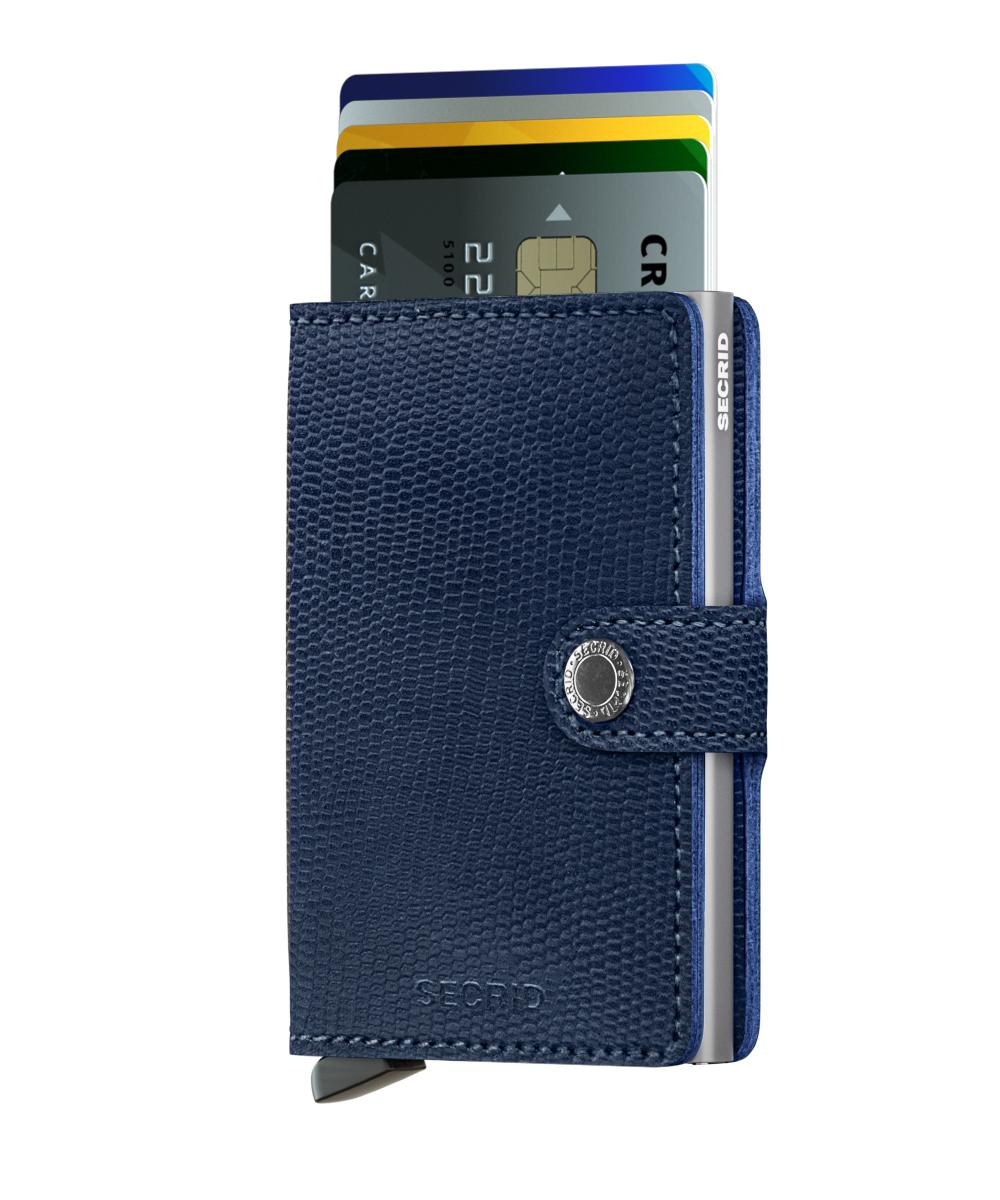 Secrid Miniwallet Rango Blue Titanium Wallet