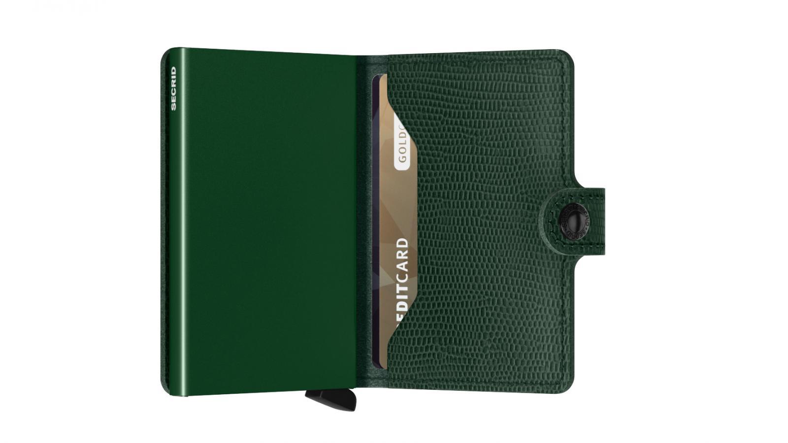 Secrid Miniwallet Rango Green Cüzdan