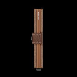 Secrid Miniwallet Saffiano Caramel Cüzdan - Thumbnail