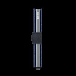 Secrid Miniwallet Saffiano Navy Cüzdan - Thumbnail