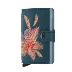 Secrid Miniwallet Stic Magnolia Petrolio Wallet - Thumbnail